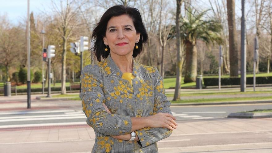La eurodiputada del PNV, Izaskun Bilbao Barandika