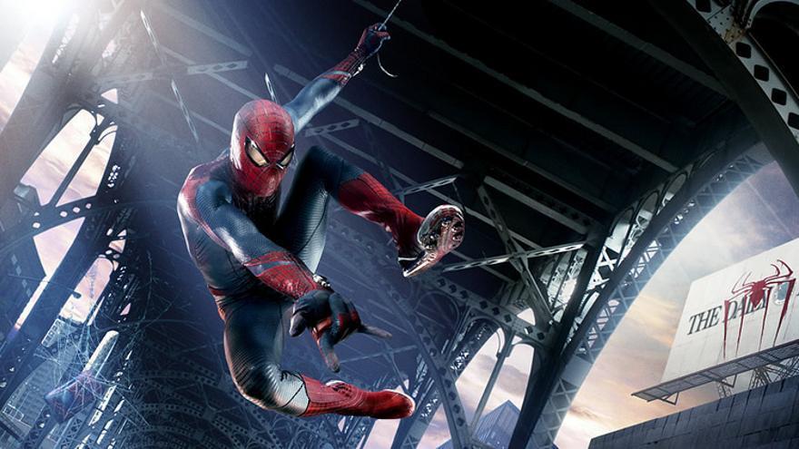 Bankia regalaba una toalla de Amazing Spiderman por mejorar el sueldo 300 euros / marvelousRoland
