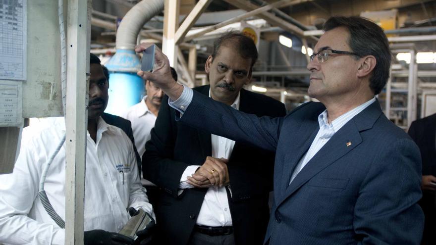 Mas lidera la negociación de la fecha y pregunta de la consulta entre los partidos catalanes