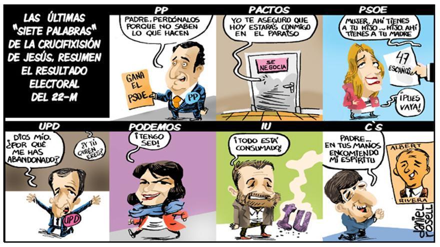 Elecciones cuaresmáticas / Daniel Rosell
