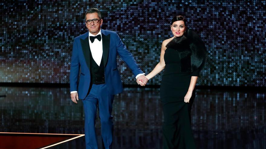 Buenafuente y Silvia Abril en los Goya 2020