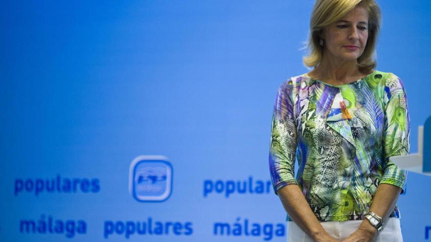 Esperanza Oña, vicepresidenta del Parlamento andaluz.