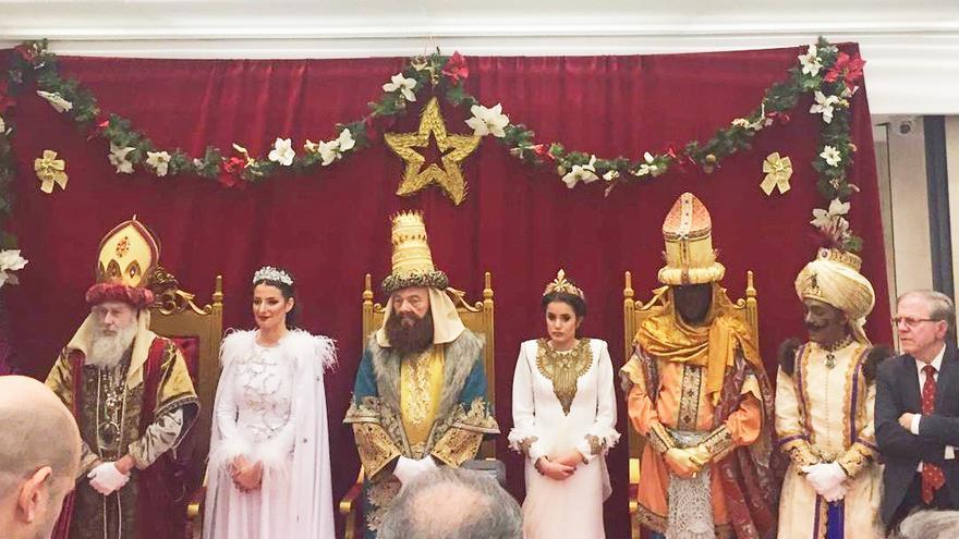 Los Reyes Magos de la cabalgata de Sevilla, 2018