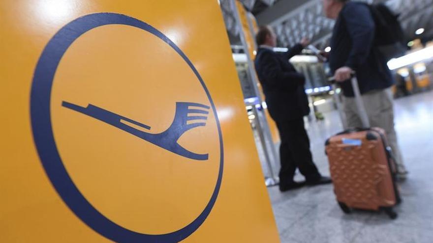 Más de 800 vuelos afectados por la huelga de pilotos de Lufthansa