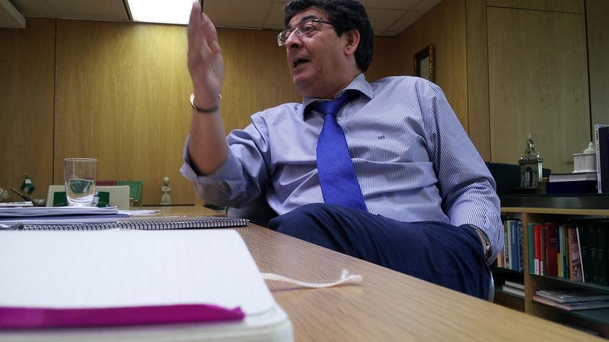 Diego Valderas, vicepresidente de la Junta de Andalucía y coordinador de IU Andalucía