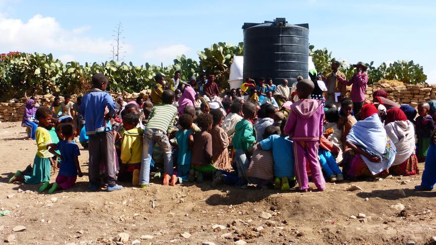 Se estima que 1,8 millones de etíopes no tendrán acceso a agua potable en 2016. Foto: Santi Cano / AeA