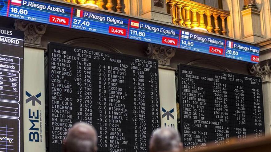 La bolsa española abre con recortes y el IBEX cede un 0,56 por ciento