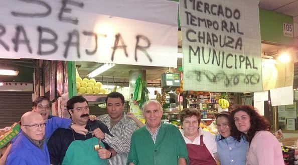 Comerciantes de Barceló opuestos al traslado al mercado provisional | A.P