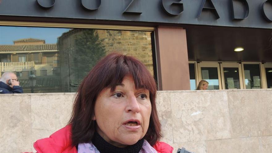 La candidata de UP-IU por Toledo, Olga Ávalos / EUROPA PRESS