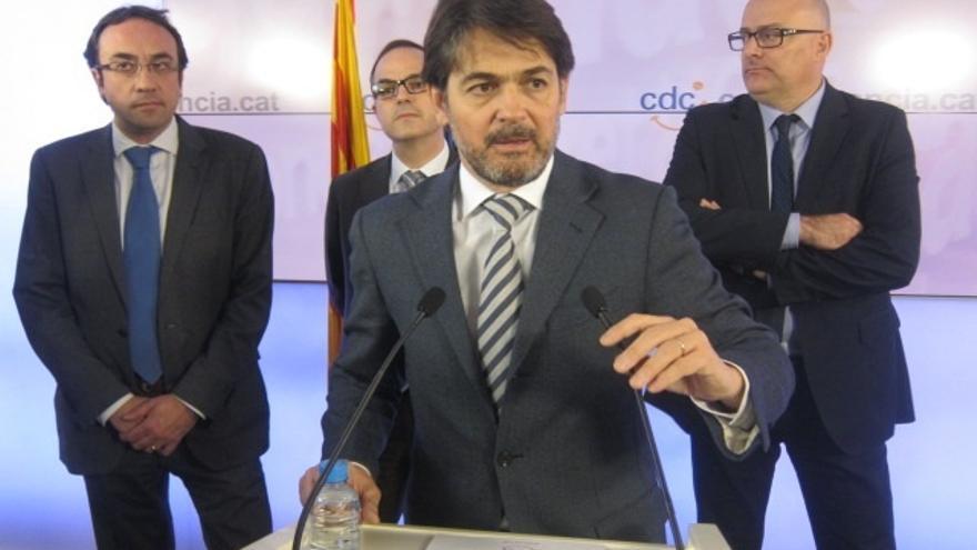 CDC ratifica la decisión de Oriol Pujol de delegar sus funciones tras su imputación