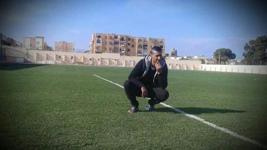 Mohamed Bouderbala, en Hadjadj, en la provincia de Mostaganem   Foto cedida
