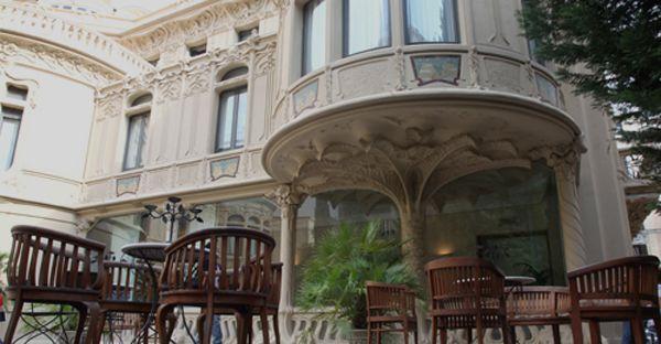 Patio interior del Palacio de Longoria, sede de la SGAE   Fotografía: SGAE