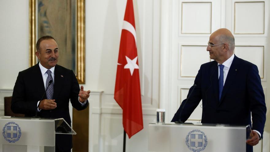 Grecia y Turquía recuperan el tono amistoso