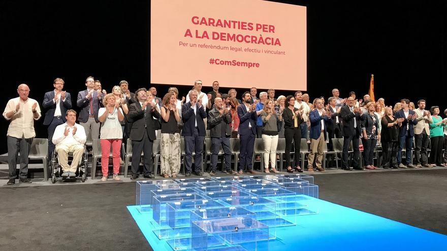 """Puigdemont dice que el 1-O no habrá choque de trenes: """"uno quedará en vía muerta"""""""
