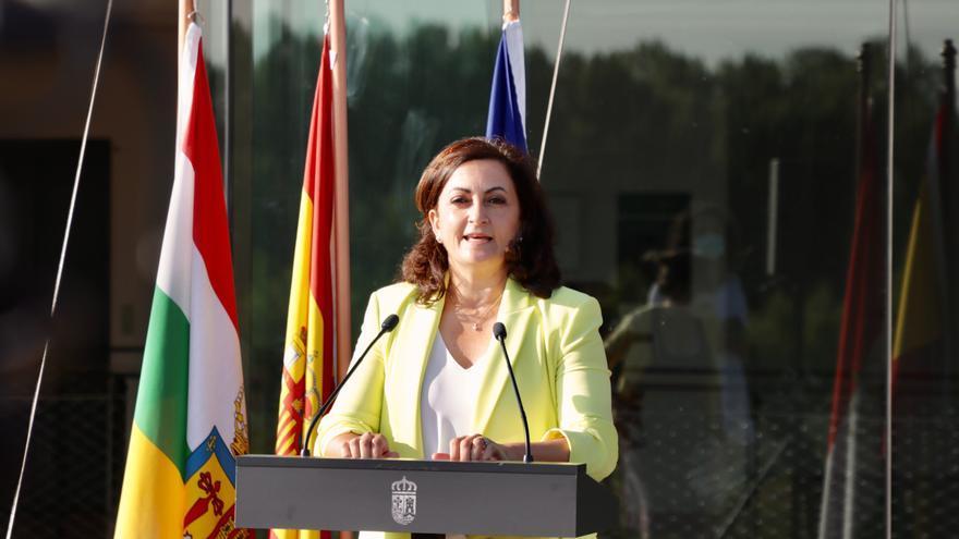 La presdienta del Gobierno riojano, Concha Andreu