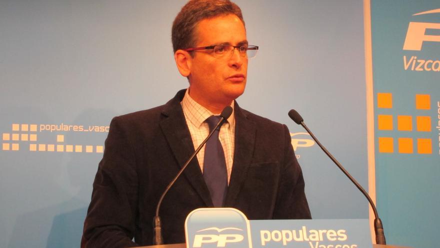 """Basagoiti afirma que si el Gobierno diera ahora la independencia supondría """"rematar"""" a las víctimas de ETA"""