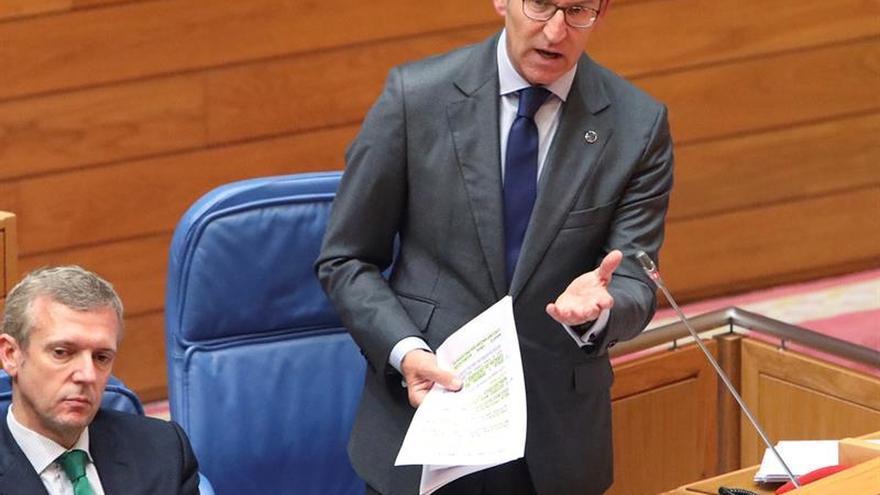 Feijóo apoyaría sin duda la presentación de Rajoy a las próximas elecciones