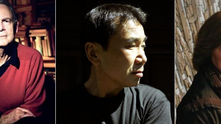 Aspirantes al Nobel: Patrick Modiano, Harucki Murakami y Svetlana Alexievich