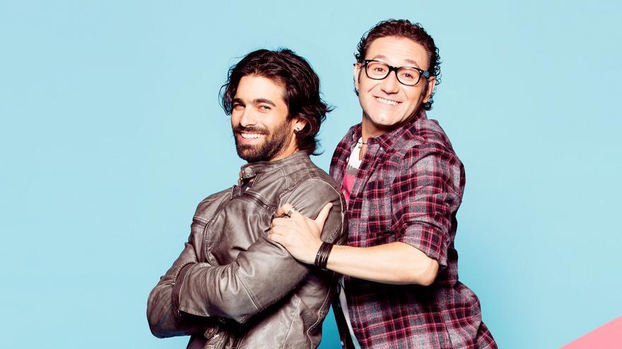 Rubén Cortada y Carlos Santos