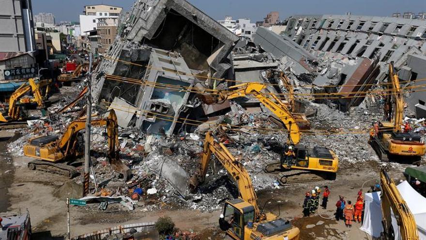 Un terremoto de magnitud 5,7 sacude las aguas de Taiwán