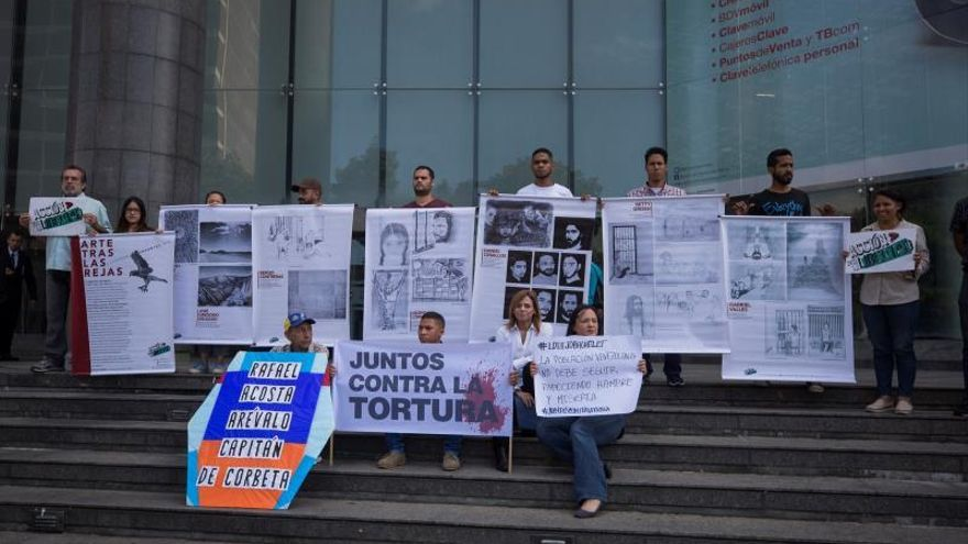 """Asociaciones proderechos humanos denuncian abusos """"sistemáticos"""" en Venezuela"""