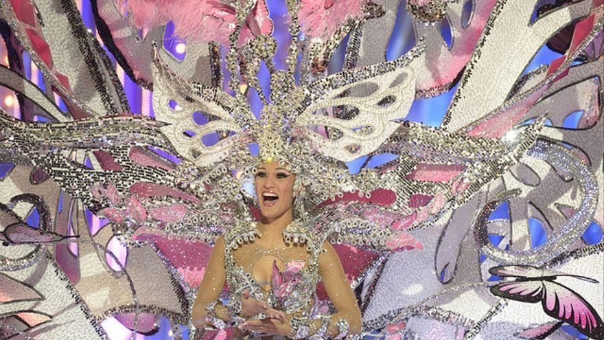 Paula Miranda, Reina del Carnaval de Las Palmas de Gran Canaria