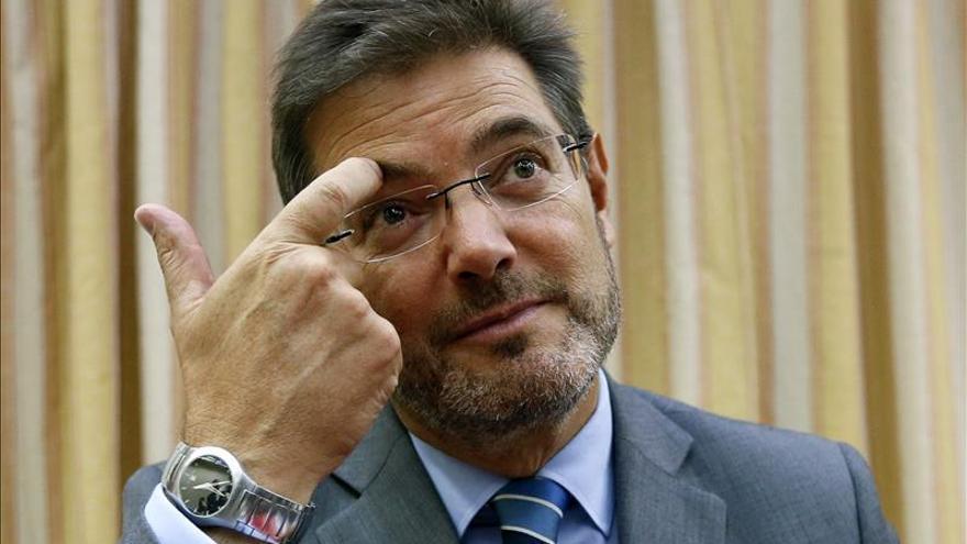 Catalá dice sobre la manifestación contra el aborto que se busca consenso para reformar la ley