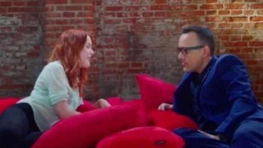 Amarna Miller Entrevista Risto Mejide al rincón': la actriz porno dice que se cobra poco y el cura