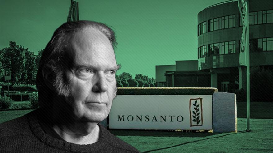 Monsanto trató de desacreditar a quienes investigaban su comportamiento con informes centrados incluso en el cantante Neil Young