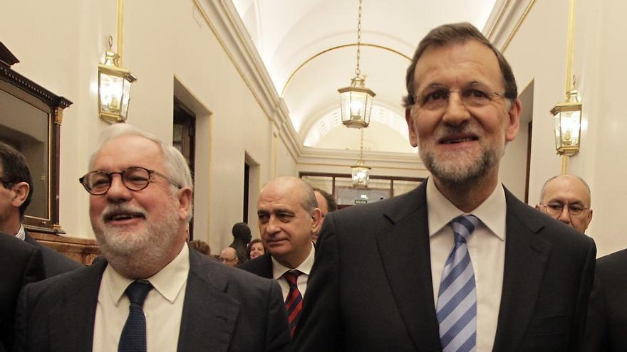 """Rajoy dice que """"no hay previsto nada"""" de una crisis de Gobierno tras la designación del ministro Cañete"""