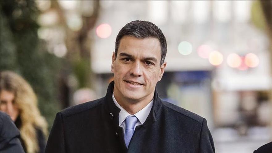 """Sánchez pide concentrar el voto de la izquierda al ver """"desfondado"""" a Podemos"""