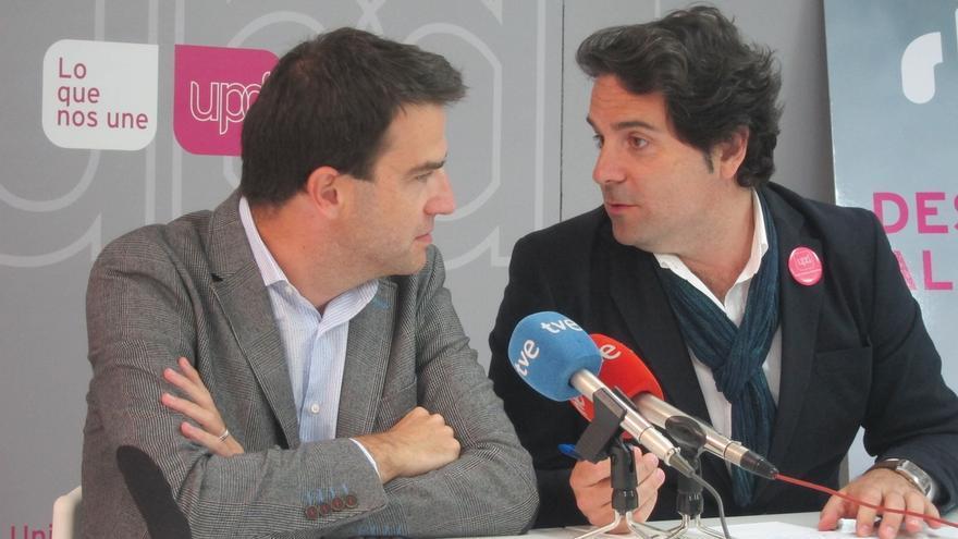 """Maneiro dice que UPyD es un partido """"auténtico"""" que no se sustituye con """"cosmética ni telegenia"""""""