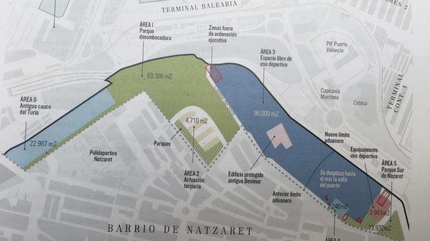 Plano del plan de Natzaret