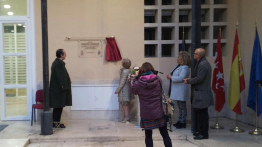El rector, este martes en el campus de Aranjuez