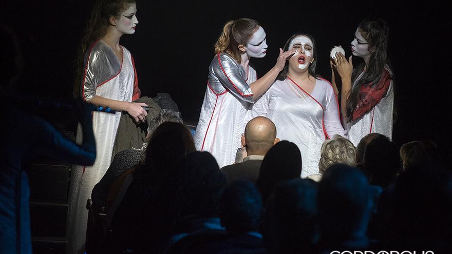 Representación de 'Carmina Burana', por  La Fura del Baus, en el Gran Teatro   TONI BLANCO