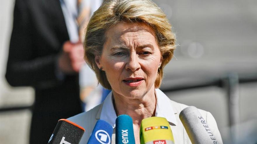 La alemana Von der Leyen elegida para la presidencia de la Comisión Europea