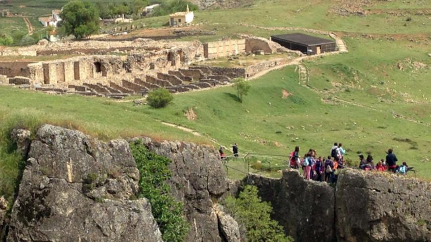 Ciudad Romana de Valeria, en Cuenca