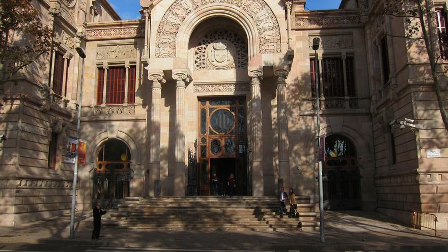 Exterior de la Audiencia de Barcelona