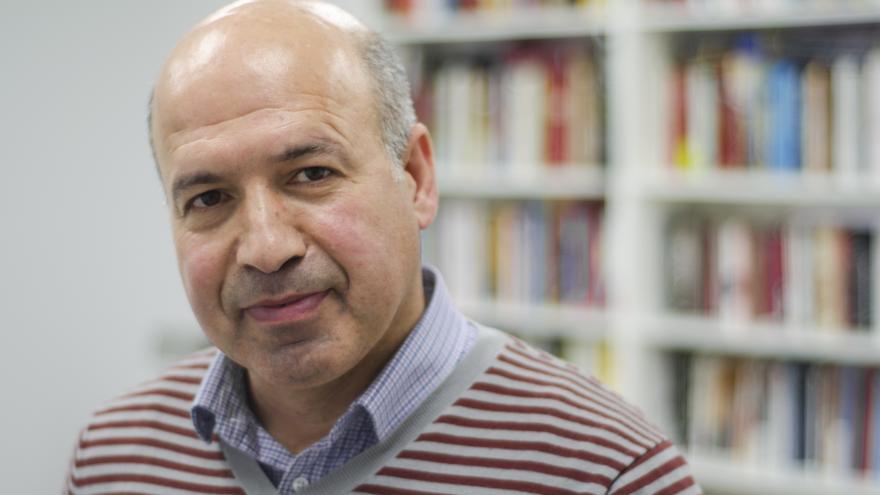 Mahmud Colak Zerdesti, representante del Congreso Nacional de Kurdistán en el Exilio. / Foto: Alejandro Navarro Bustamante.