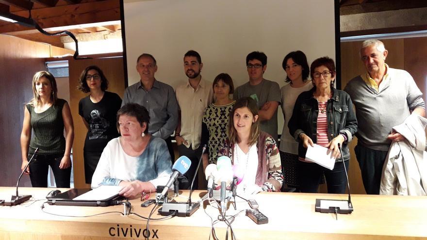 EH Bildu, Podemos e I-E se suman a sindicatos para pedir al Gobierno que cierre las negociaciones del TAV con Fomento