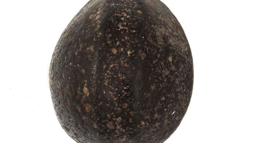 Esferoide de basalto.