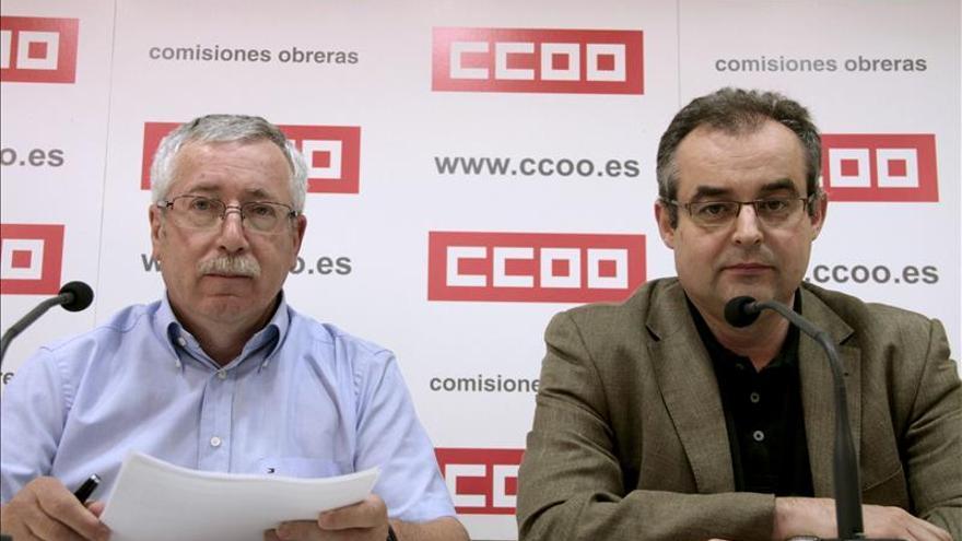 CCOO niega sobresueldos y dice que no paga gastos suntuarios
