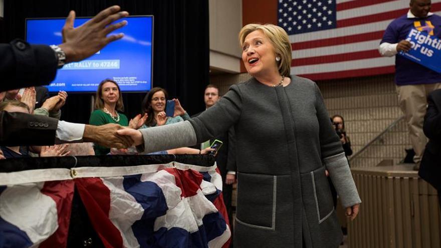 Hillary Clinton se impone sobre Sanders en las primarias de Tennessee