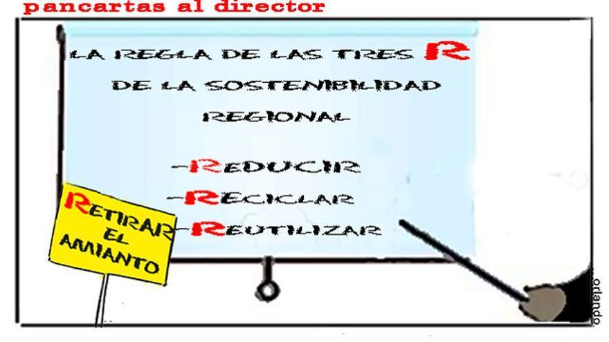 Pancartas al director