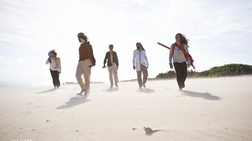 El grupo de folk andaluz La Banda Morisca.