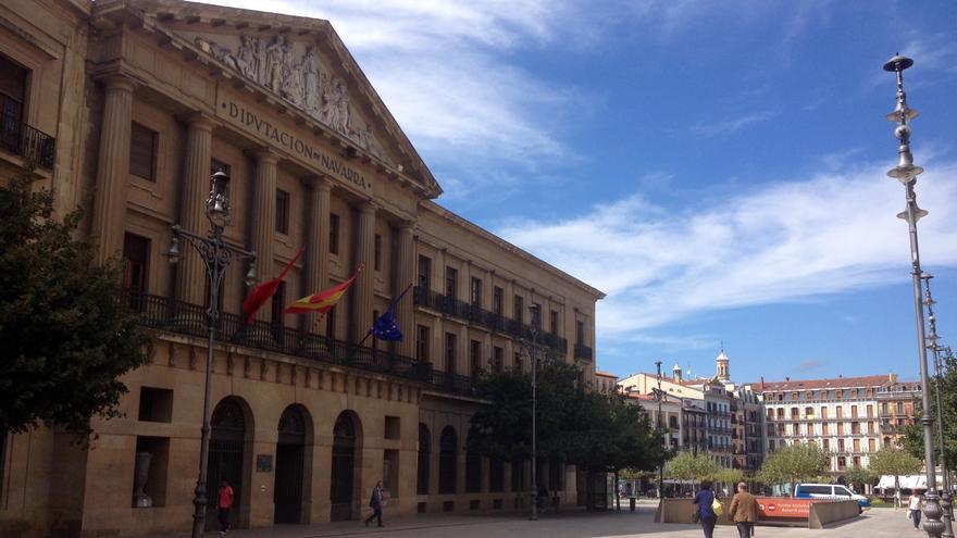 La sede de la Diputación en Pamplona.