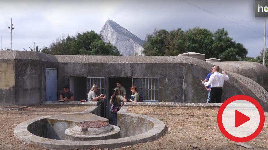 Uno de los búnkeres sobre los que se proyecta habilitar un espacio turístico.