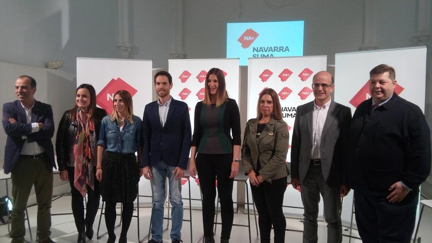"""Navarra Suma se presenta al Congreso y el Senado con el objetivo de ser una """"muralla que contenga al nacionalismo"""""""