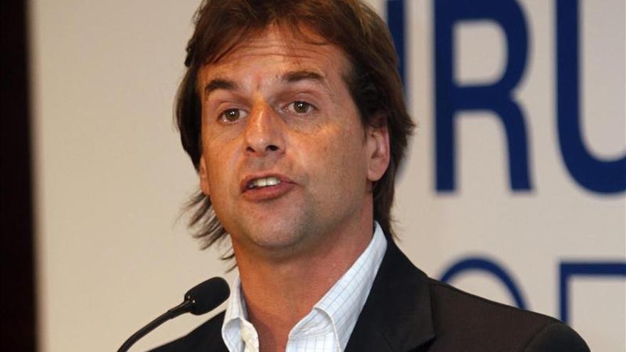 El excandidato Lacalle Pou aspira a alcanzar la Presidencia de Uruguay en 2019