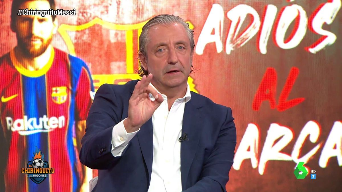 Pedrerol, en 'El Chiringuito' especial sobre Messi